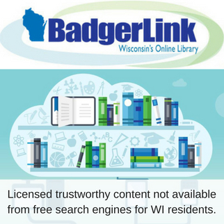 BadgerLink provides Wisconsin residents with licensed trustworthy content not available from free search engines.