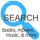 Search books, movies, music and more
